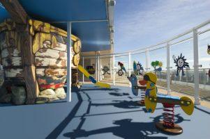 MSC Cruises - Outdoors kids' play area