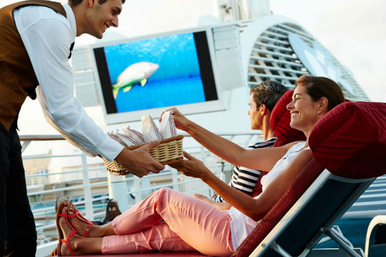 Movies Under the Stars - Princess Cruises