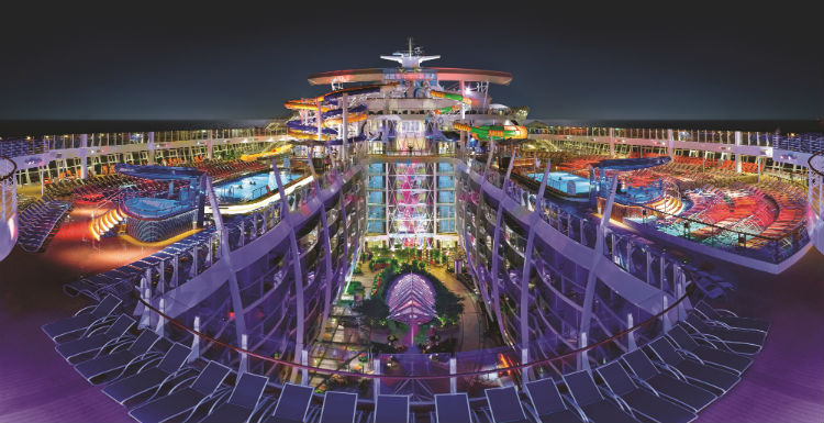 Nightlife on-board Royal Caribbean