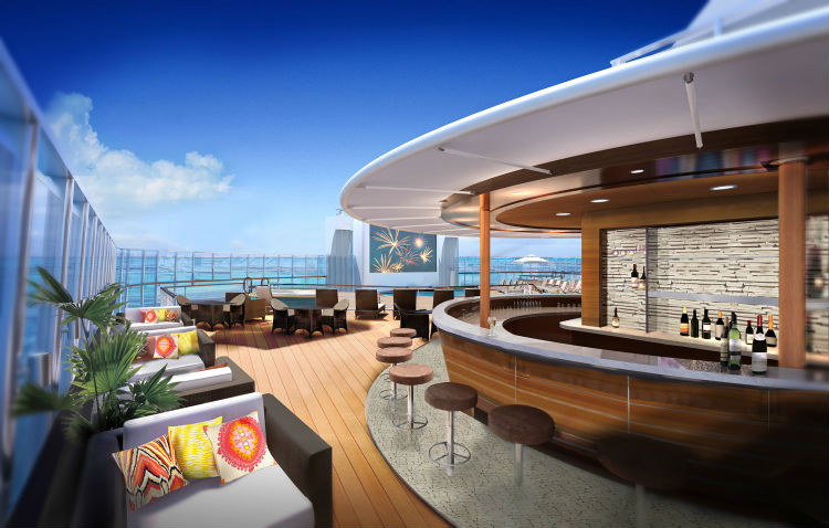 Posh Beach Club and Spice H20 - Norwegian Cruise Line