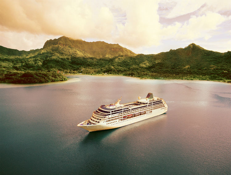 P&O Cruises - Ship destination