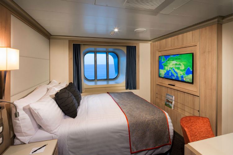 Single cabin on-board Holland America