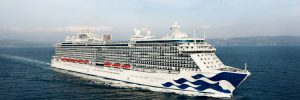 Princess Cruises - Ship at sea