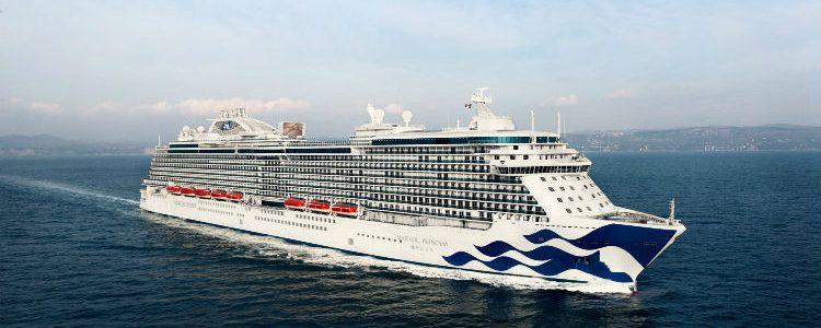 Princess Cruises - Ship at sea