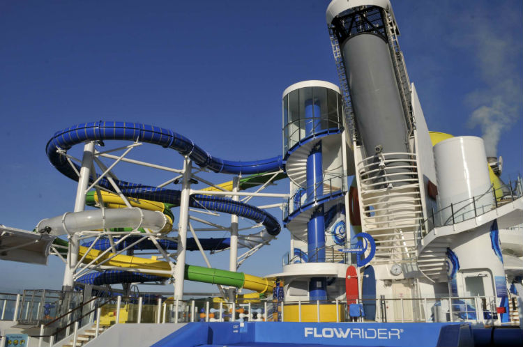 FlowRider - Independence of the Seas