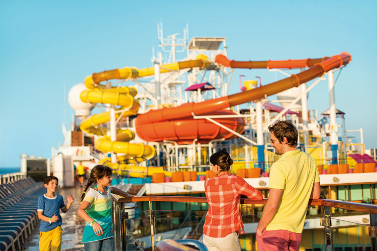 Waterpark - Carnival Cruise Lines