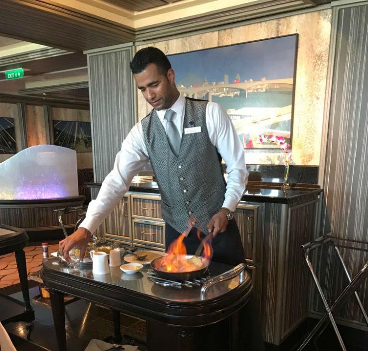 Epicurean Restaurant - P&O Cruises