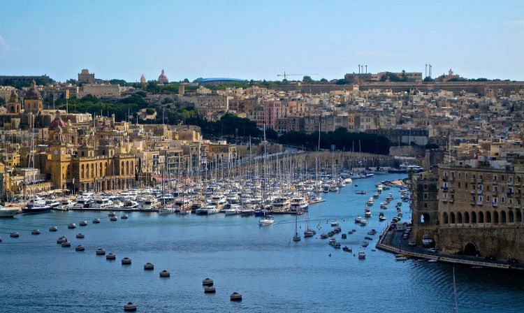 Harbour in Malta - Mediterranean