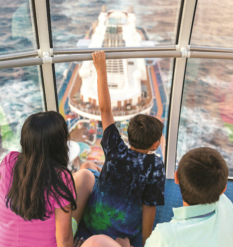 Children on the North Star - Royal Caribbean