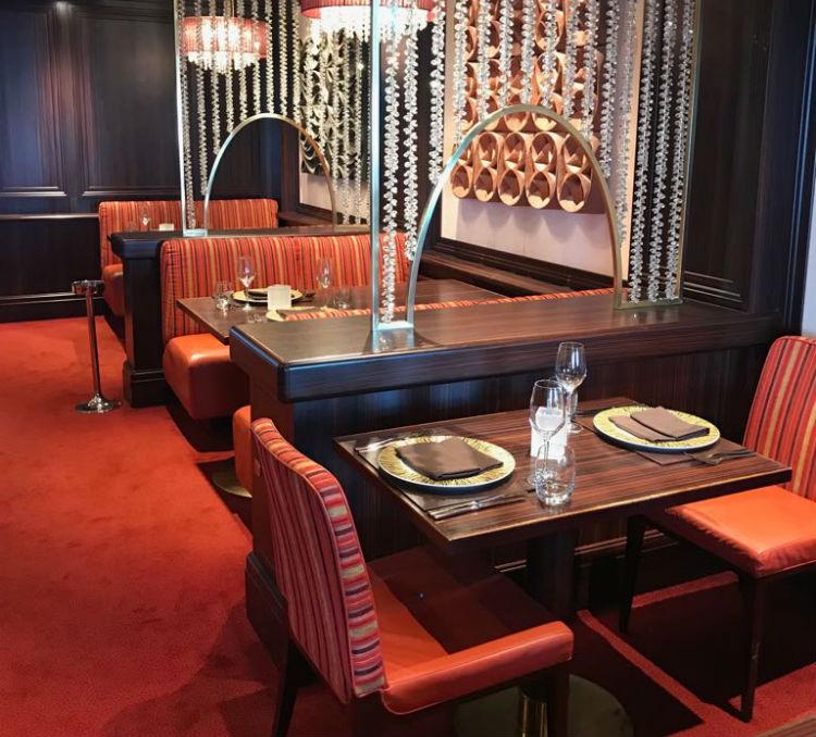 Sindhu Restaurant - P&O Cruises