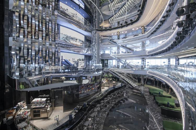 Central Atrium - MSC Seaview