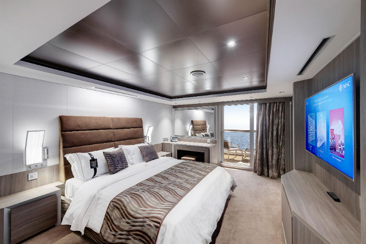 MSC Seaview - Yacht Club Suite - MSC Cruises