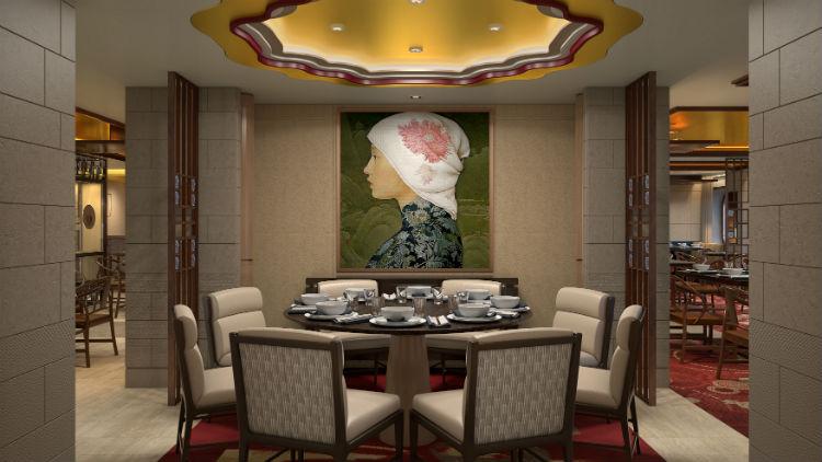 Sichuan Red Restaurant - Spectrum of the Seas