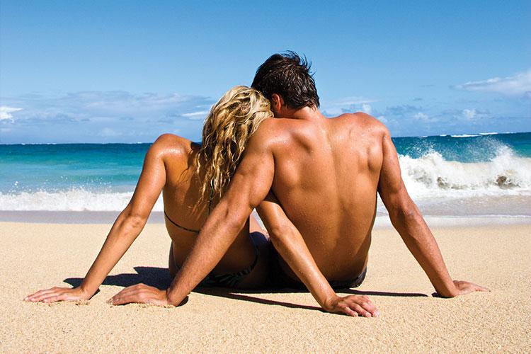 Caribbean Couple Beach