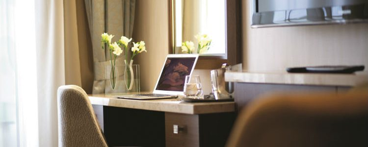 Celebrity Cruises - Desk in suite