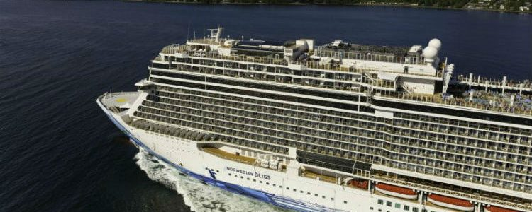 Norwegian Bliss - Exterior view