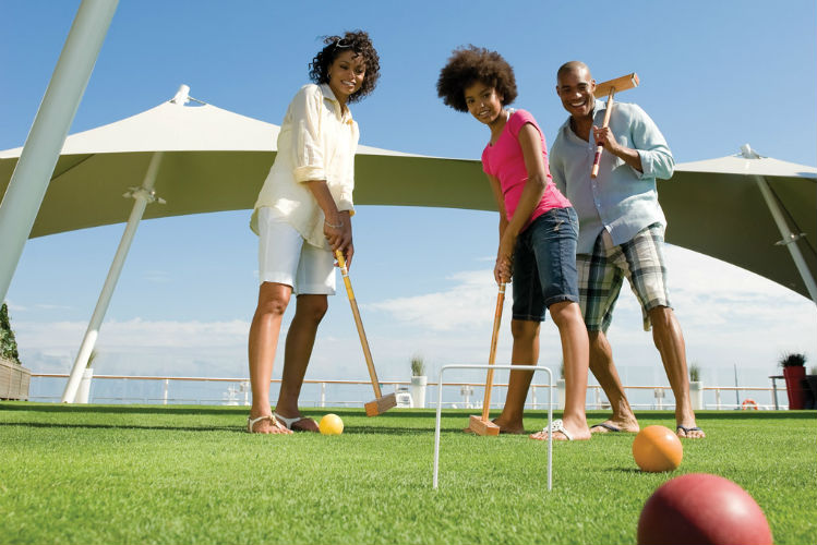 Croquet on the Lawn Club - Celebrity Cruises