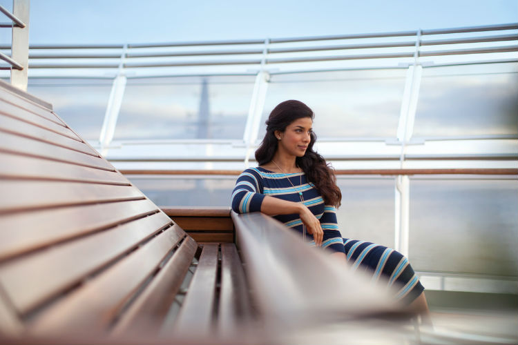 Cunard - Solo traveller on a Cunard ship