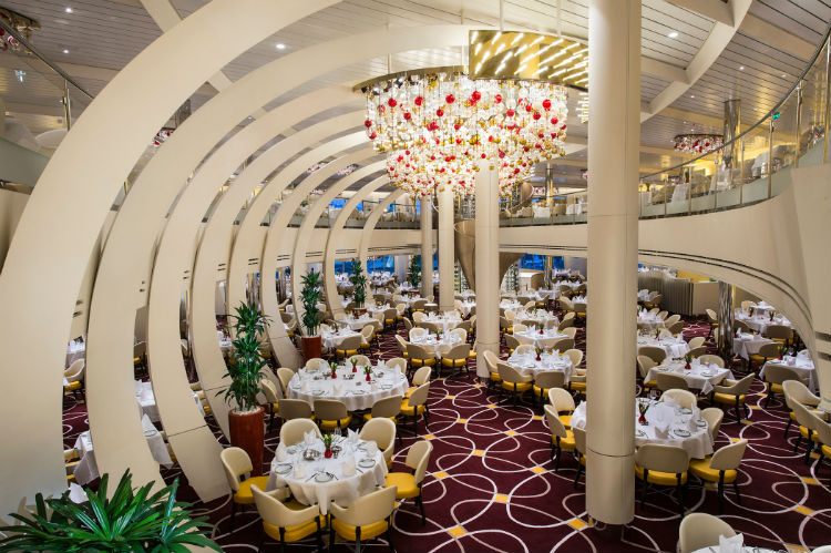 Main Dining Room - Nieuw Statendam - Holland America