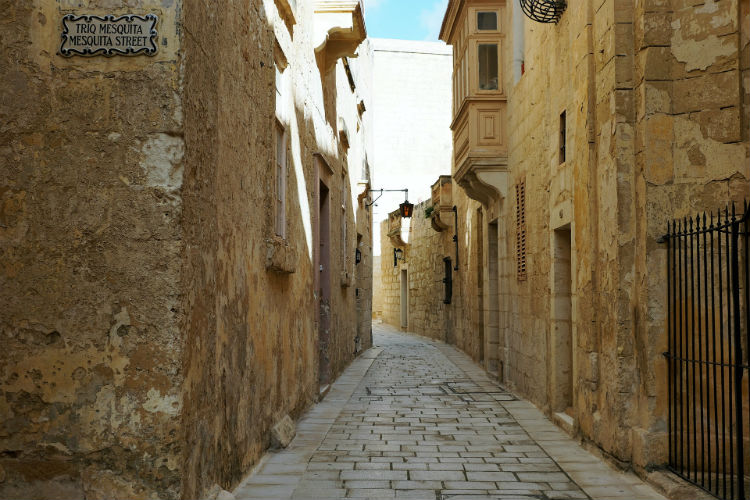 Streets of Mdina - Malta