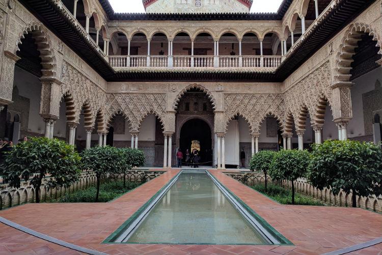 Alcazar of Seville - Spain