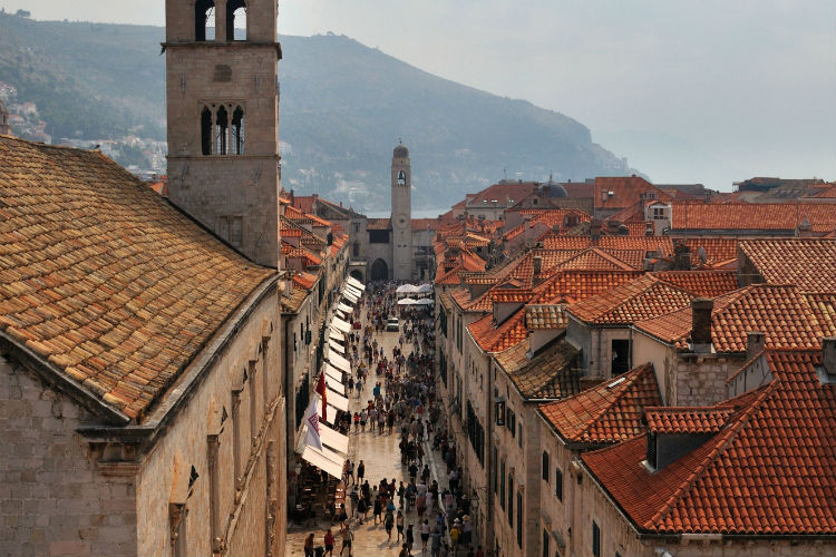 Dubrovnik, Croatia - Streets in the Old City
