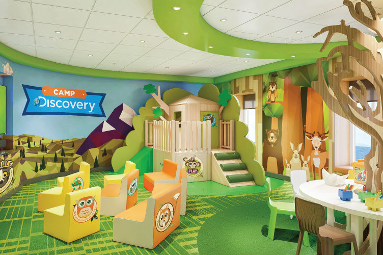 Camp Discovery - Treehouse - Princess Cruises