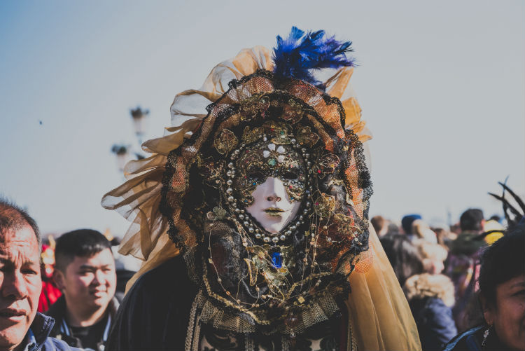Costume parade - Venice Carnival