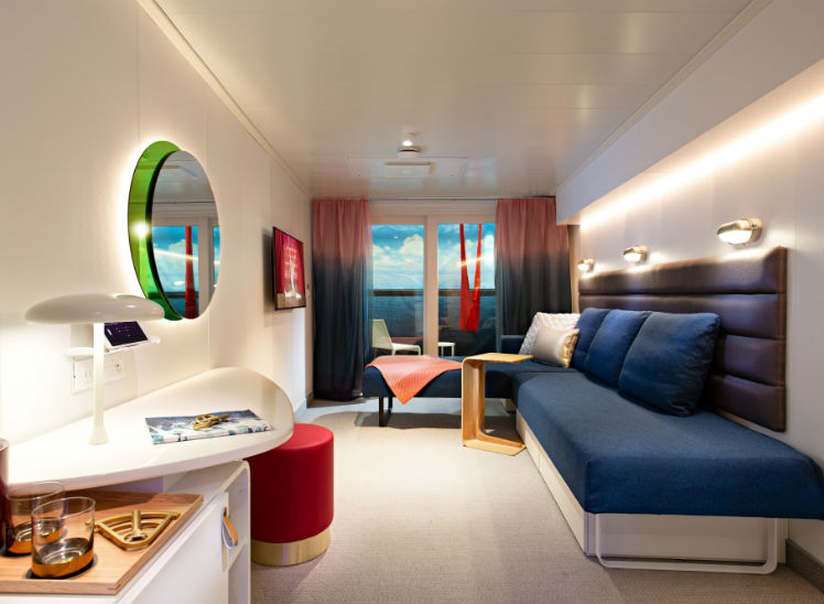 Cabin on Virgin Voyages
