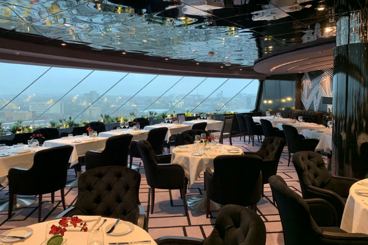 Dining in the Yacht Club - MSC Bellissima