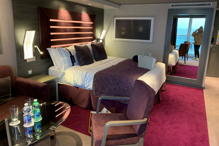 Stateroom on-board MSC Bellissima