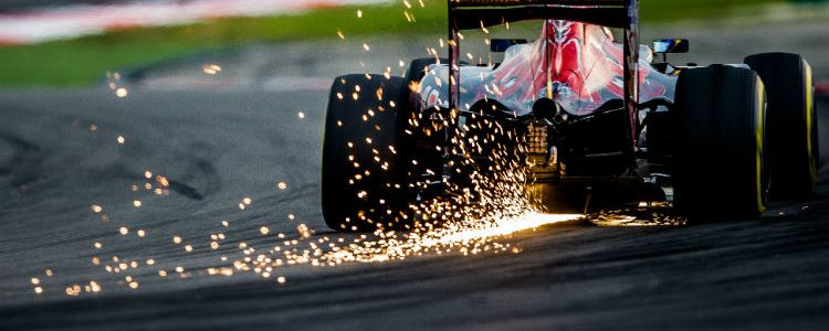 Grand Prix - Car on the track