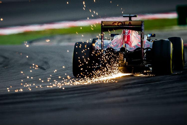 Car in the Grand Prix