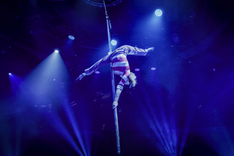 Performer at Cirque du Soleil - MSC Cruises