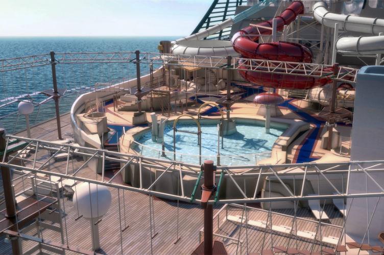 Aquapark - MSC Bellissima