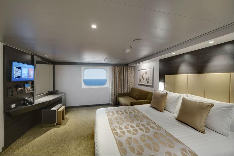 MSC Bellissima - Ocean View cabin