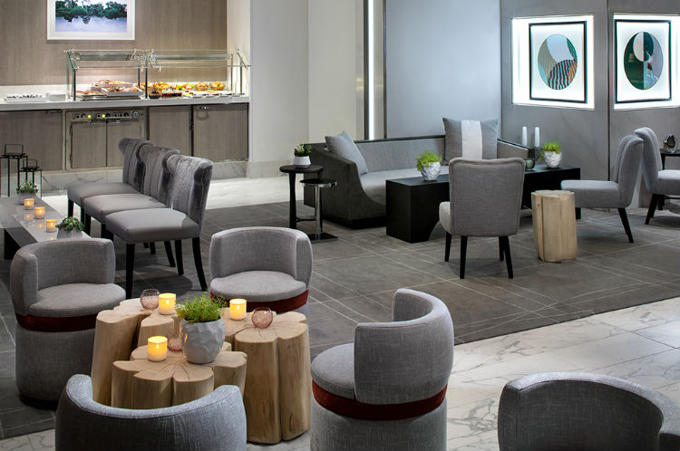 The Retreat Lounge - Celebrity Summit