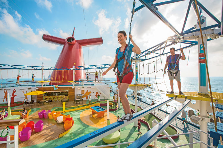 Sky Course - Carnival Cruises