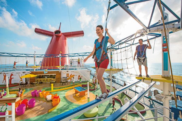 Sky Course - Carnival Cruises