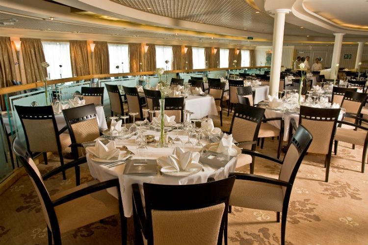 Thistle Restaurant - Dining - Fred Olsen