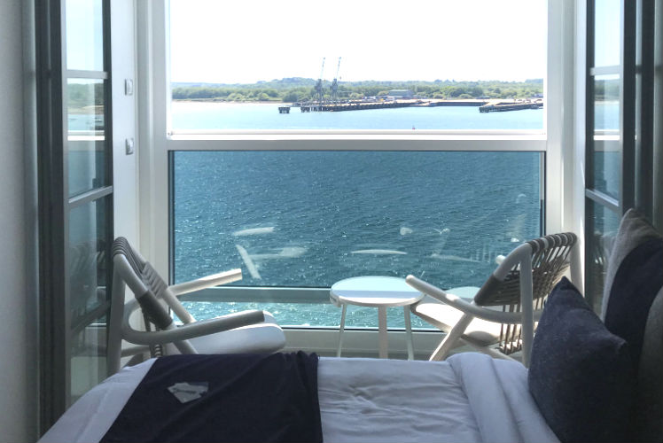 Balcony - Edge Stateroom - Celebrity Edge