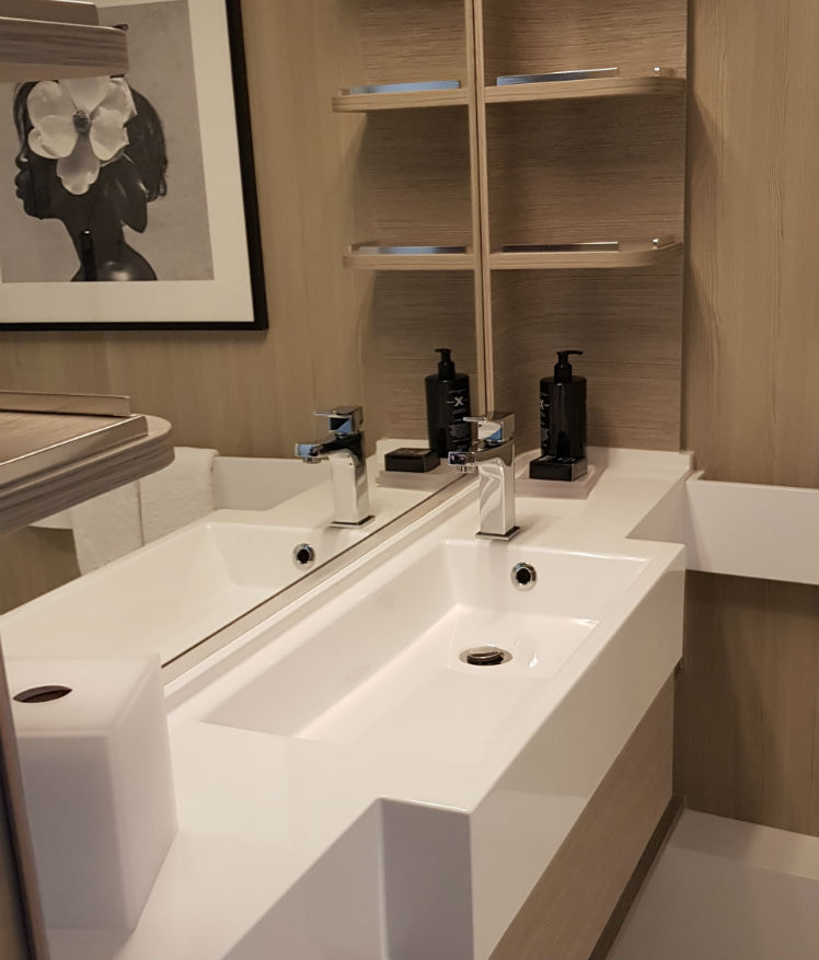 Bathroom in the Infinite Balcony - Celebrity Edge