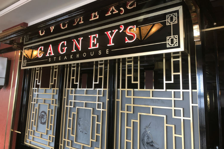Cagney's Steakhouse - Norwegian Spirit