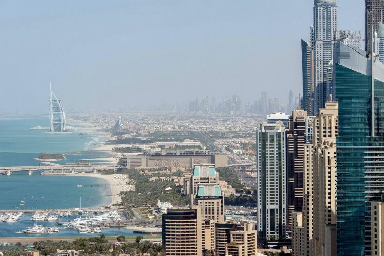 Dubai skyline - Middle East