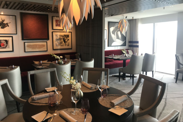 Luminae - Dining on-board Celebrity Edge