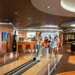 MSC Cruises - Bowling alley