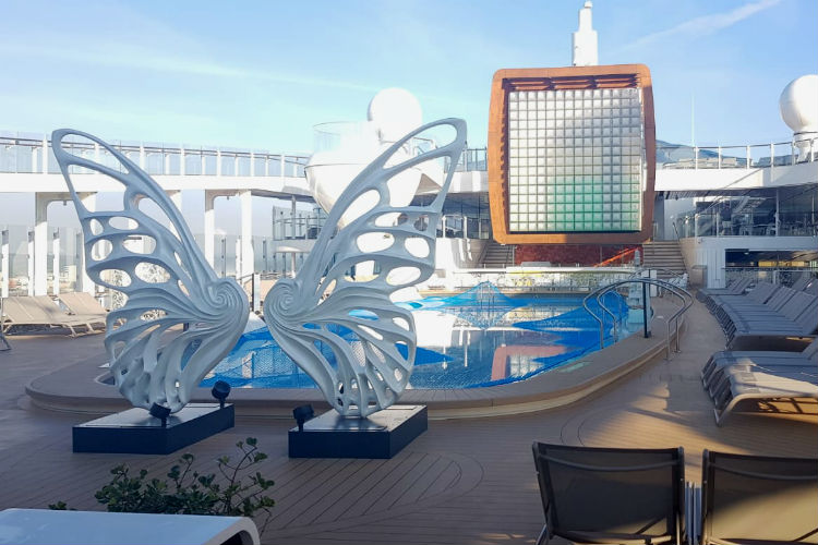 Resort Deck - Celebrity Edge