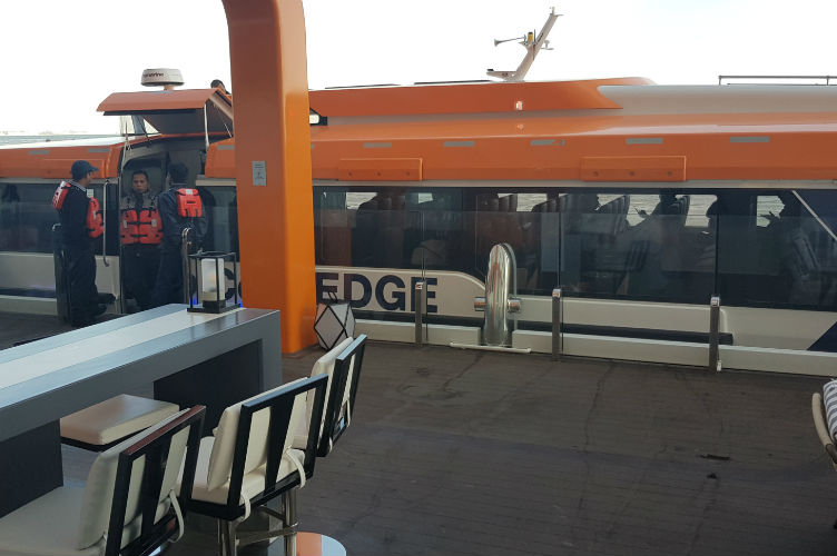 Tender - Destination Gateway - Celebrity Edge