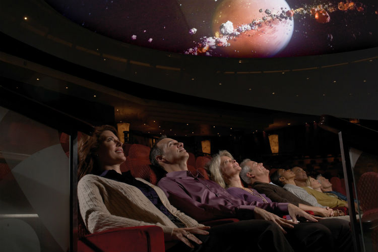 Planetarium - Queen Mary 2 - Cunard