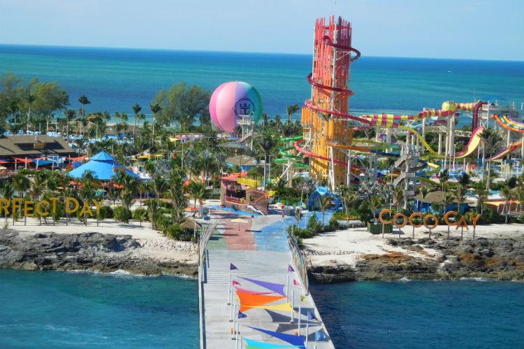 Perfect Day at CocoCay entrance - Royal Caribbean